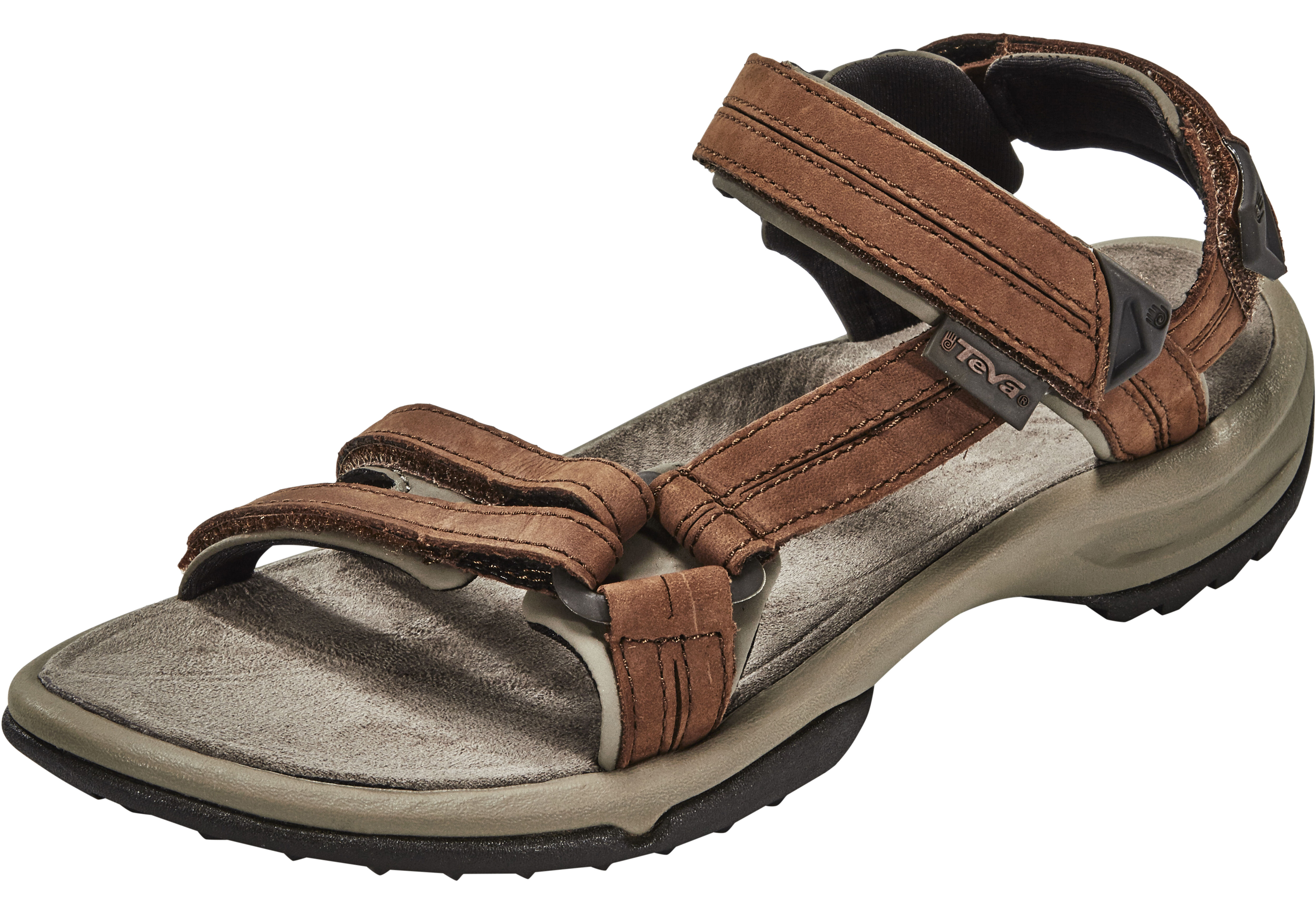 84b7bf8defe450 Teva Terra Fi Lite Leather Sandals Women brown at Addnature.co.uk